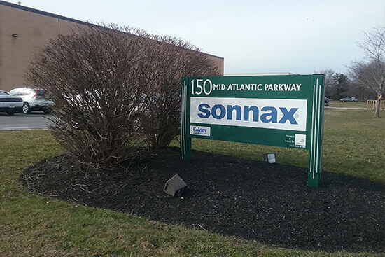 Sonnax New Jersey Location