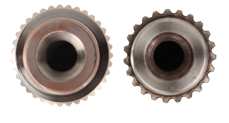 48RE Shaft Spline Comparison