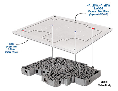 Ford 4R70E/W, 4R75E/W & AODE Vacuum Test Plate Kit