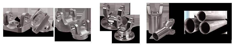 Aluminum Driveshaft Components