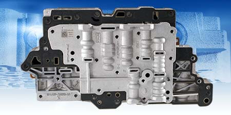6F50/55 Reman Valve Body (Fits '09-later units with 1.83 ratio 3-5-R)