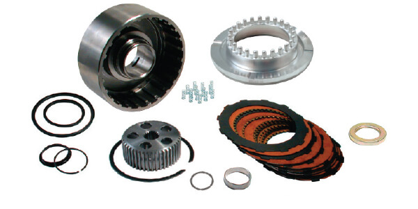 Complete 10 clutch kit