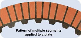 Cut-Out Pattern - Multi-Segmented Friction Ring